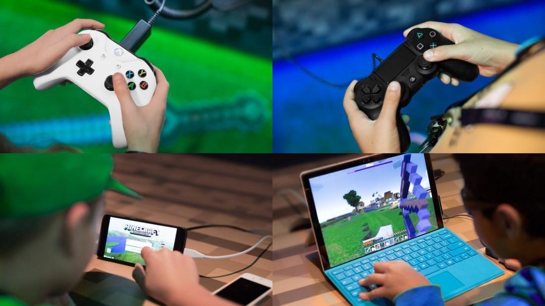 Windows Und Xbox One Gemeinsam Spielt Sichs Besser So - Minecraft controller spielen pc