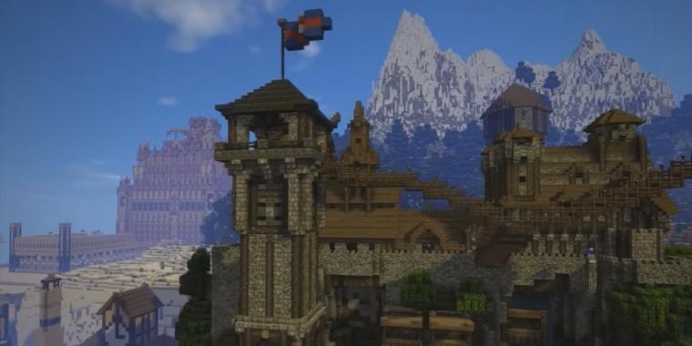 Minecraft Spieler Baut über Jahre An Eigenem Königreich - Minecraft spieler online