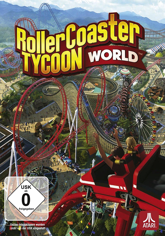 Rollercoaster Tycoon World Im Test Abrissreife ParkKatastrophe - Minecraft rollercoaster spielen