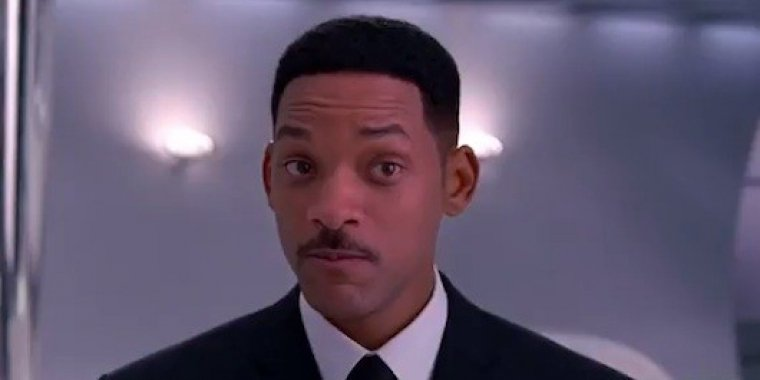 "Will Smith in ""Man in Black"""