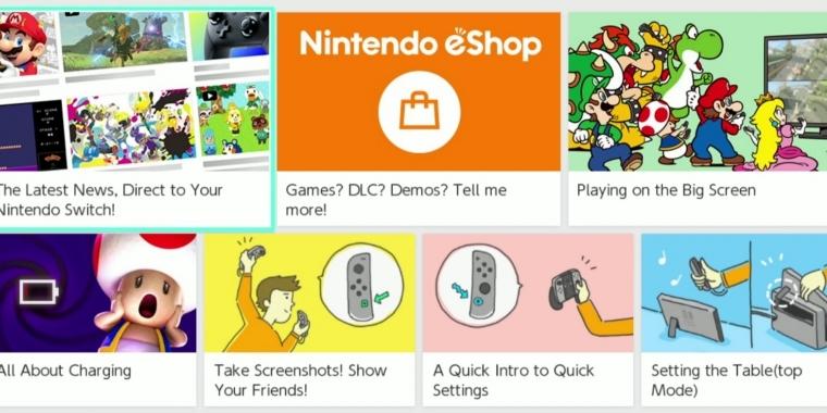 Nintendo Switch So Funktioniert Der Eshop Video Zeigt Den Online Shop