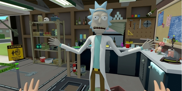 Rick and Morty: Virtual Rick-ality ist jetzt bei Steam erhältlich.