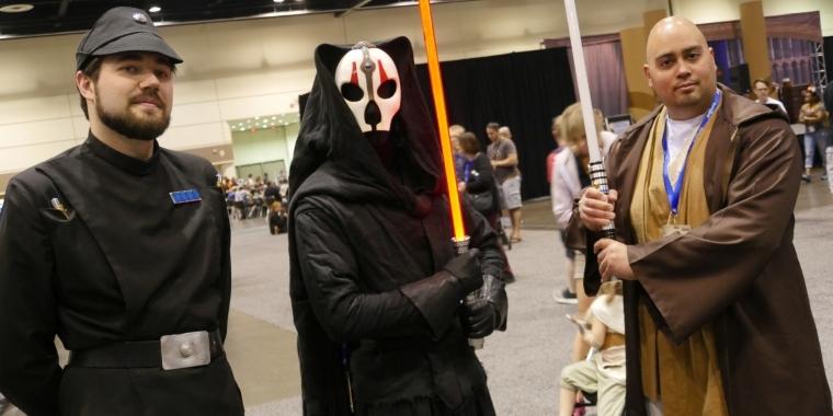 Cosplay Auf Der Star Wars Celebration Enten Jedi Sexy Ewoks Und Mehr