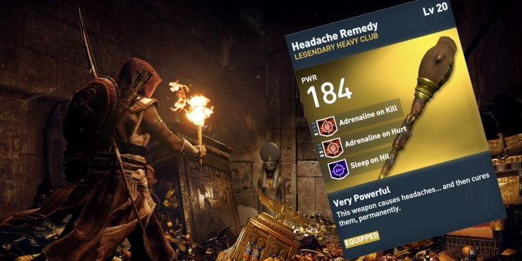 Assassin's Creed: Einzigartige Waffen