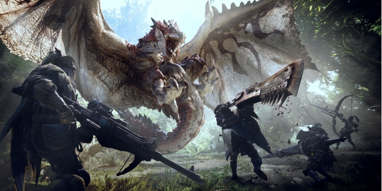 Monster Hunter World: Update 1 03 und 1 0 0 8 zum Download