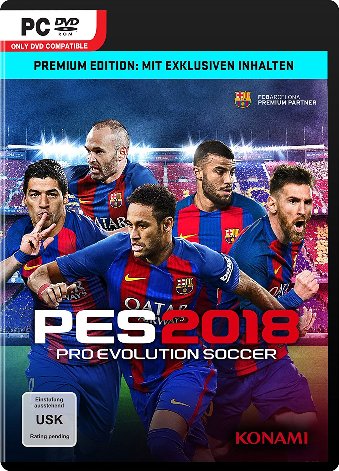 pro evolution soccer 2018 test tipps videos news release termin. Black Bedroom Furniture Sets. Home Design Ideas