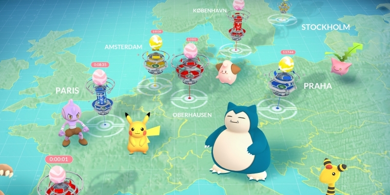 pokemon go registrieren