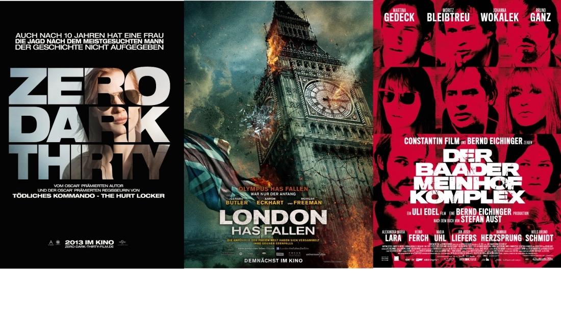 Terror im Film: 7 Top-Filme und ihr Umgang mit der Thematik