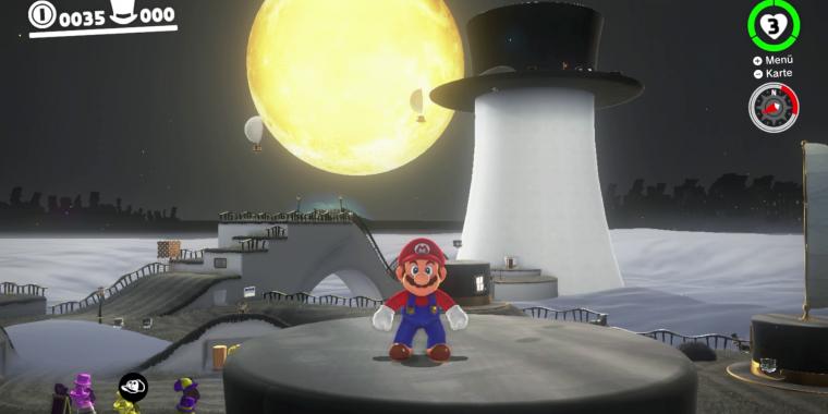 Super Mario Odyssey: Alle Power-Monde finden - Ruinenland