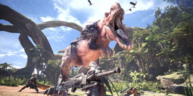 Monster Hunter World: Update 1 05 zum Download - Patch mit