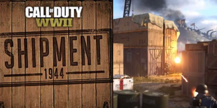 Call of Duty: WW2: Multiplayer-Map Shipment 1944 ist da Call Of Duty Black Ops Declified Maps on