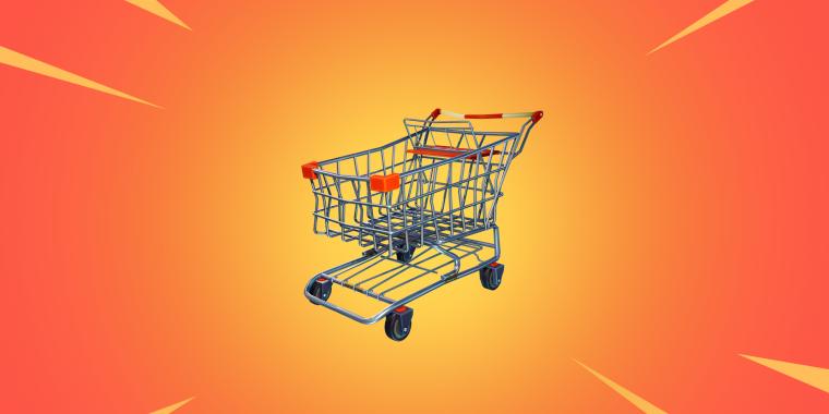 Fortnite Einkaufswagen