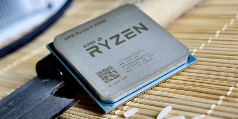Der Ryzen 5 2400G, einer der Vorgänger von den neuen CPUs von Ryzen.