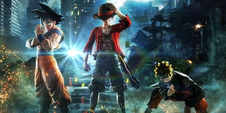 Jump Force Anime Crossover Mit Dragon Ball Z Naruto Und One Piece