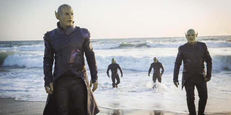 Captain Marvel Wer Sind Die Skrulls
