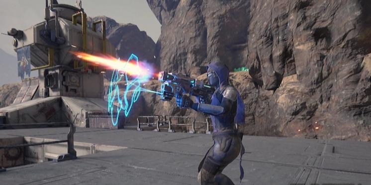 Evasion Kampfbetonte Gameplay Eindrucke Vom Vr Shooter