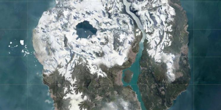 pubg karte PUBG: Schnee Map geleakt   erste Infos und Bilder zur neuen Karte