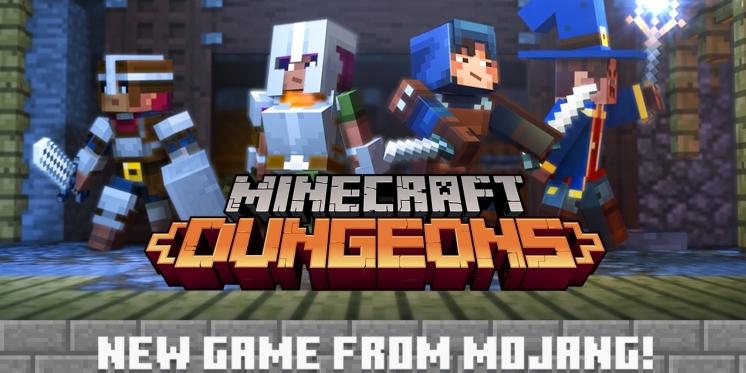 Mojang Entwickler Arbeitet An MinecraftSpinOff Dungeons - Minecraft spiele filme