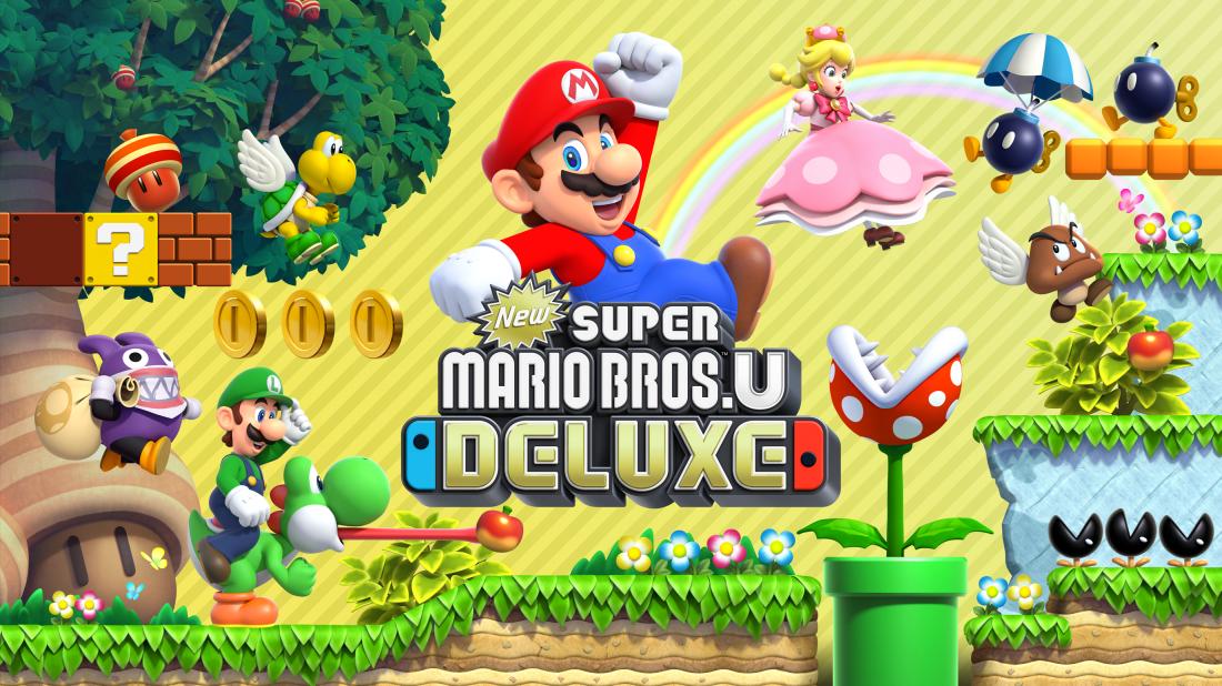 New Super Mario Bros U Deluxe Hupfspiel Neuauflage Im Test