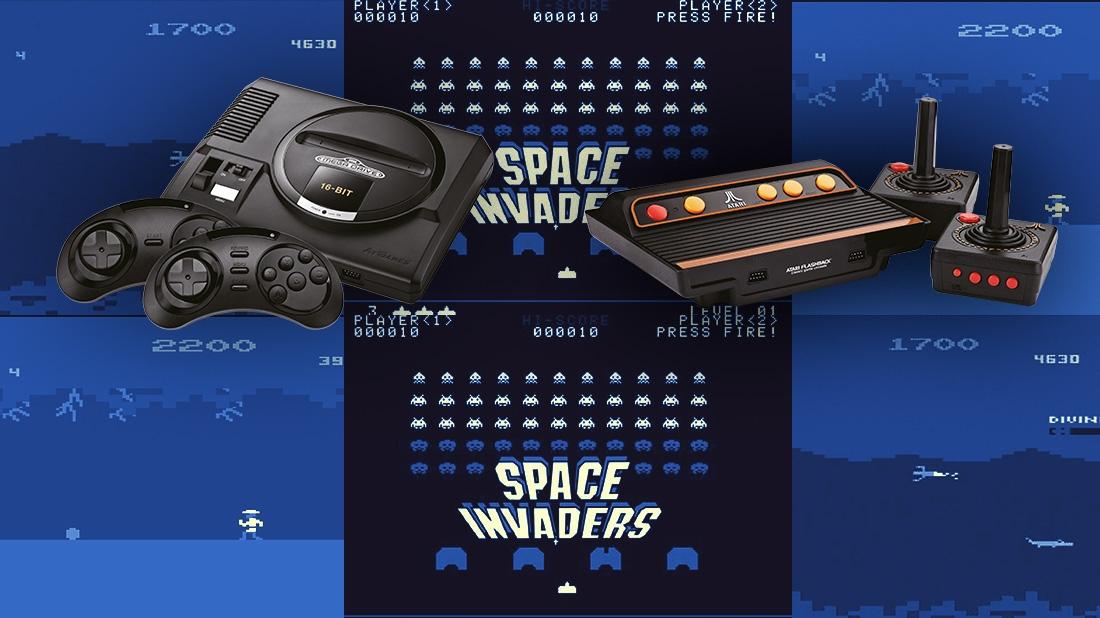 Neue Retro-Konsolen von Atari und Sega: Ein gutes Weihnachtsgeschenk ...