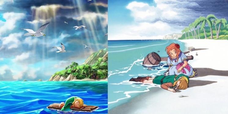 The Legend Of Zelda Link S Awakening Remake Vs Original