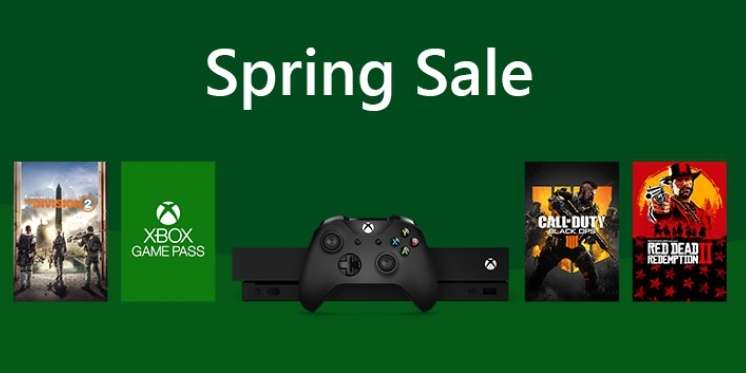 xbox one spring sale 2019 mit ber 500 spiele deals. Black Bedroom Furniture Sets. Home Design Ideas
