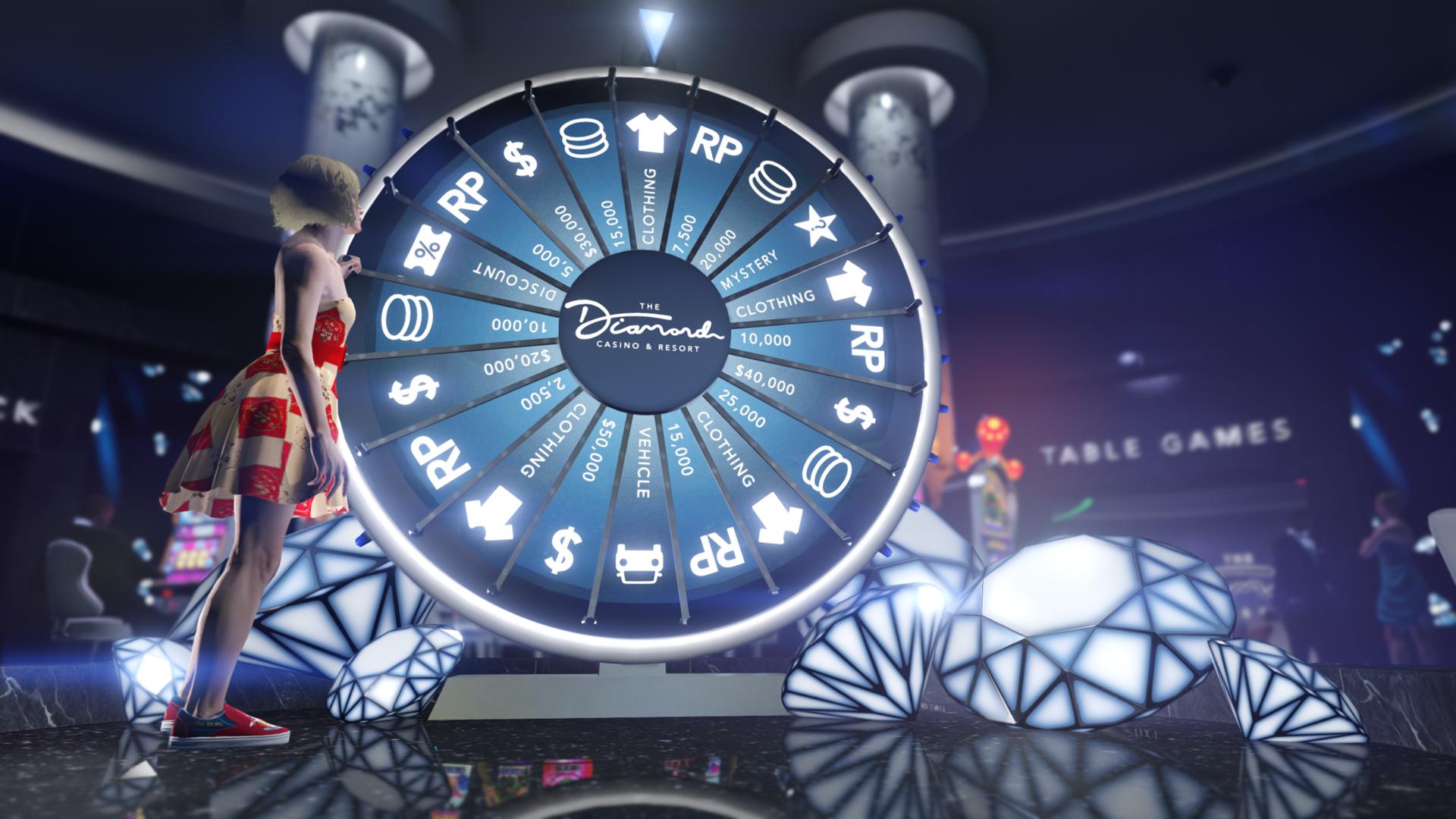 gta 5 online: am glücksrad im casino drehen & das seltenste