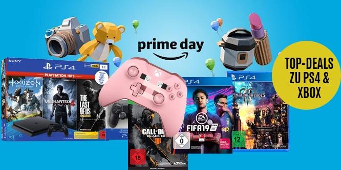Amazon Prime Day 2019 Die Besten Konsolen Angebote Und Spiele