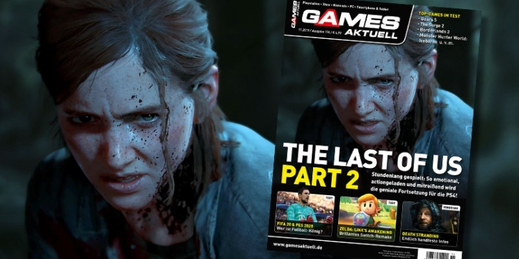 Games Aktuell 112019 The Last Of Us Part 2 Zelda Links