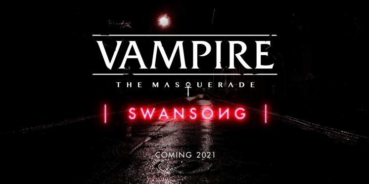 """Vampire: Swansong - Neues RPG in der """"World of Darkness"""" angekündigt"""