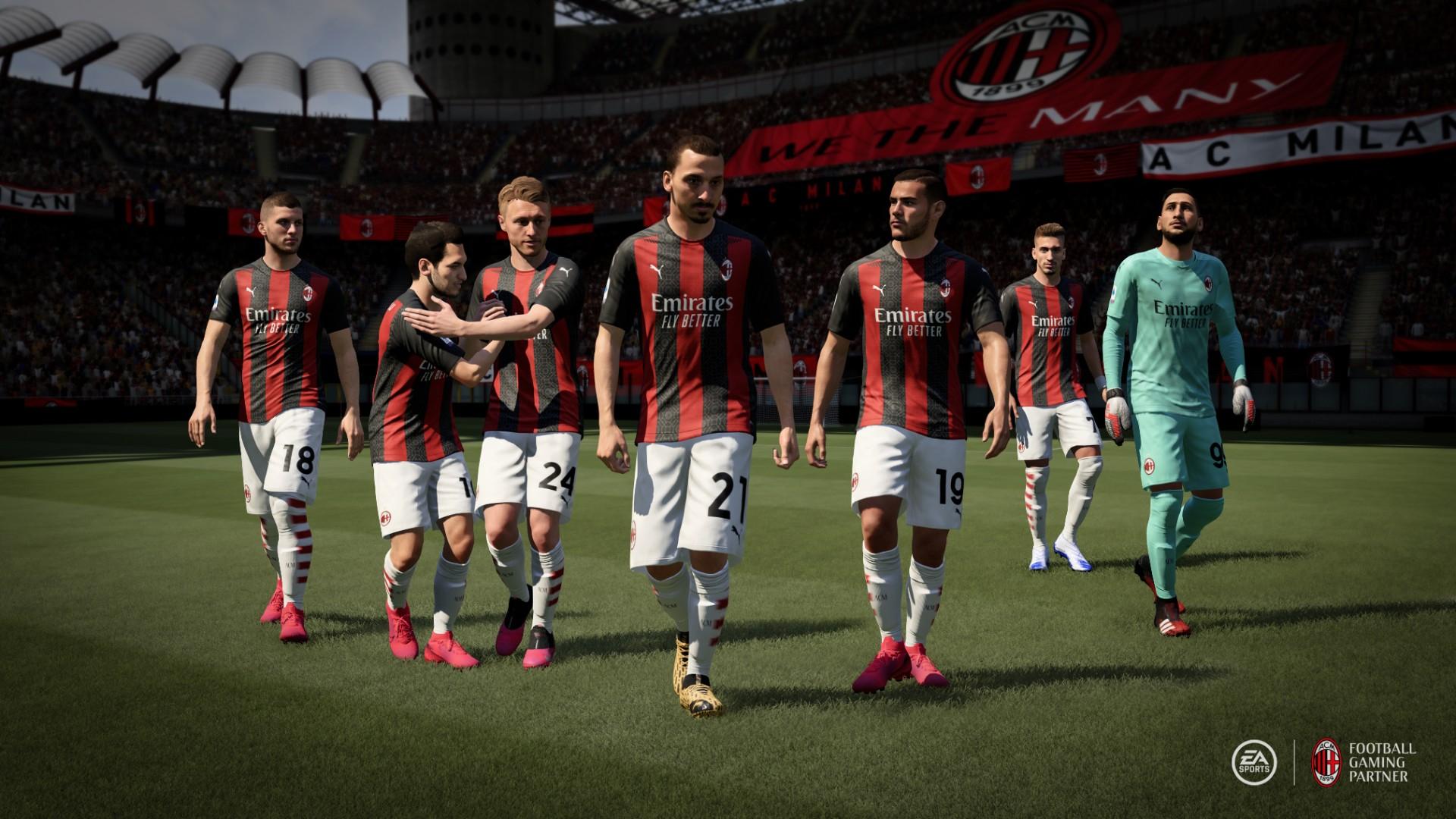 Fifa 21 Neue Videos Zu Inter Mailand Und Ac Milan Erster Gameplay Trailer Heute