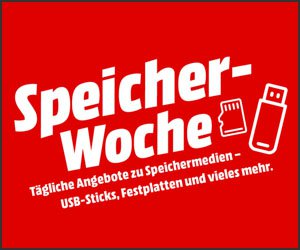 Image for storage week at MediaMarkt (changing evening offers from 6 p.m.)