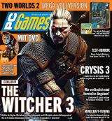 PC Games 3/13 mit Exklusiv-Titelstory The Witcher 3 + Top-Vollversion Two Worlds 2 + Crysis 3 Test