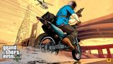 GTA 5: Neue Artworks 'Cash and Carry' zeigen Michael und Franklin in Aktion