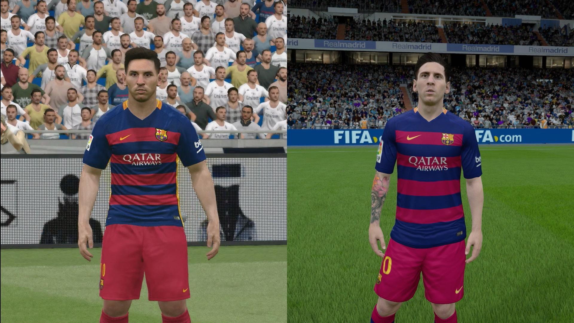 de7e2c3a7b FIFA 16 vs. PES 2016 - Video-Grafikvergleich der PC-Versionen
