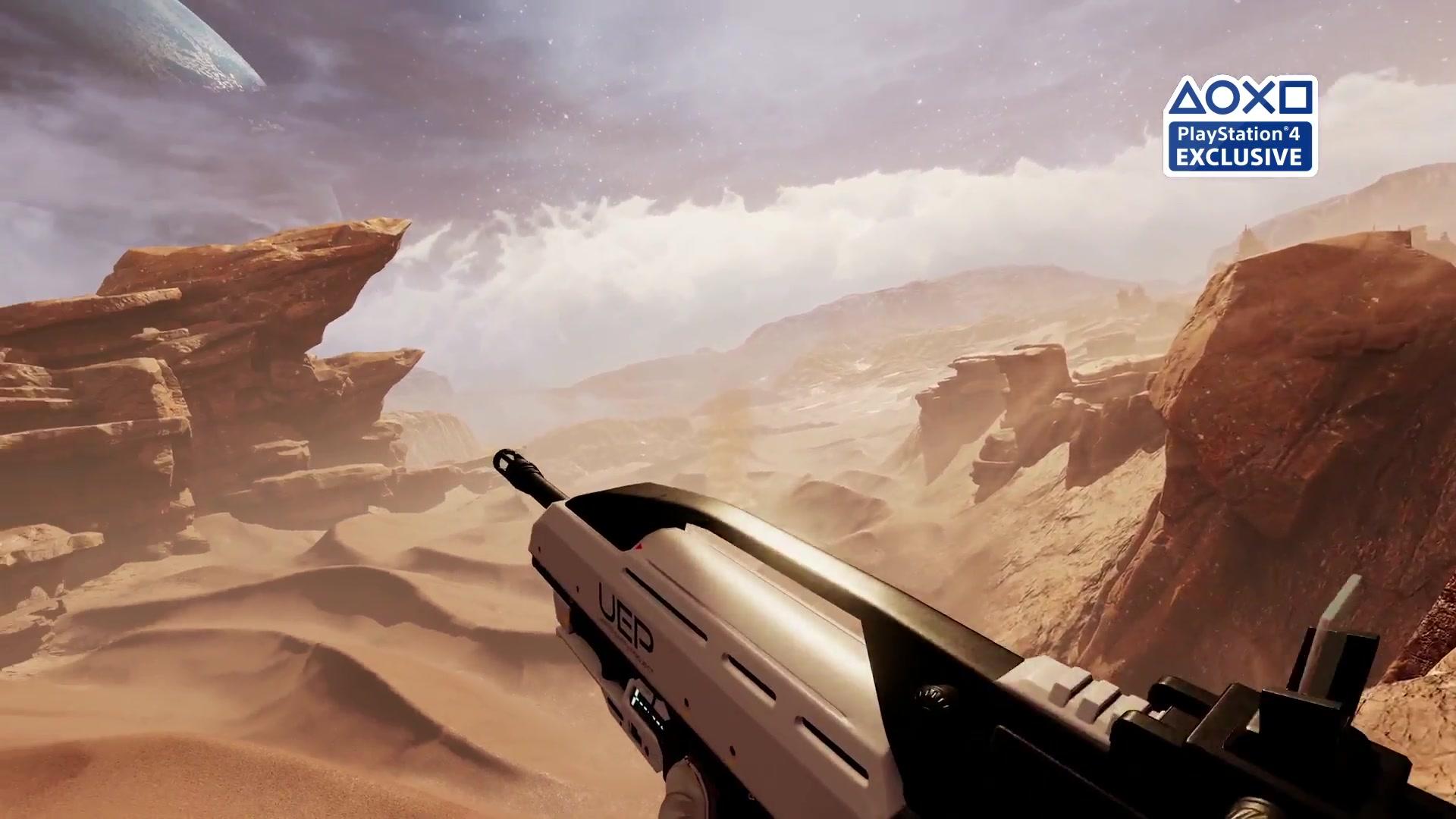 Farpoint E3 Trailer Zum Vr Shooter Fur Ps4