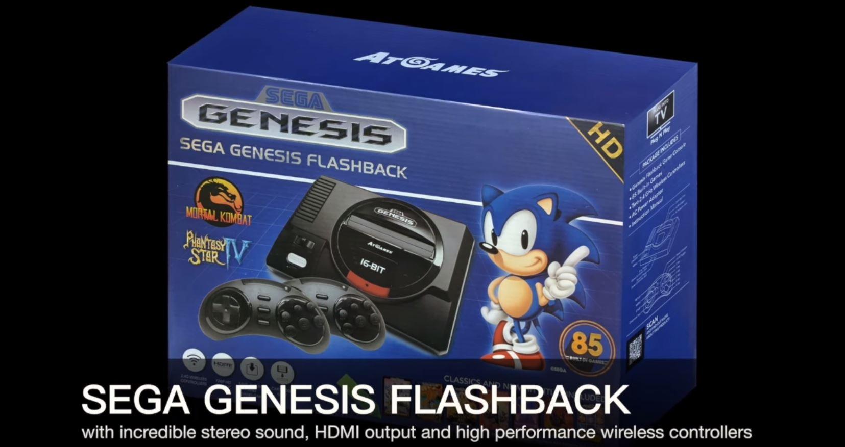 Sega Genesis Flashback: Die Retro-Konsole im Video