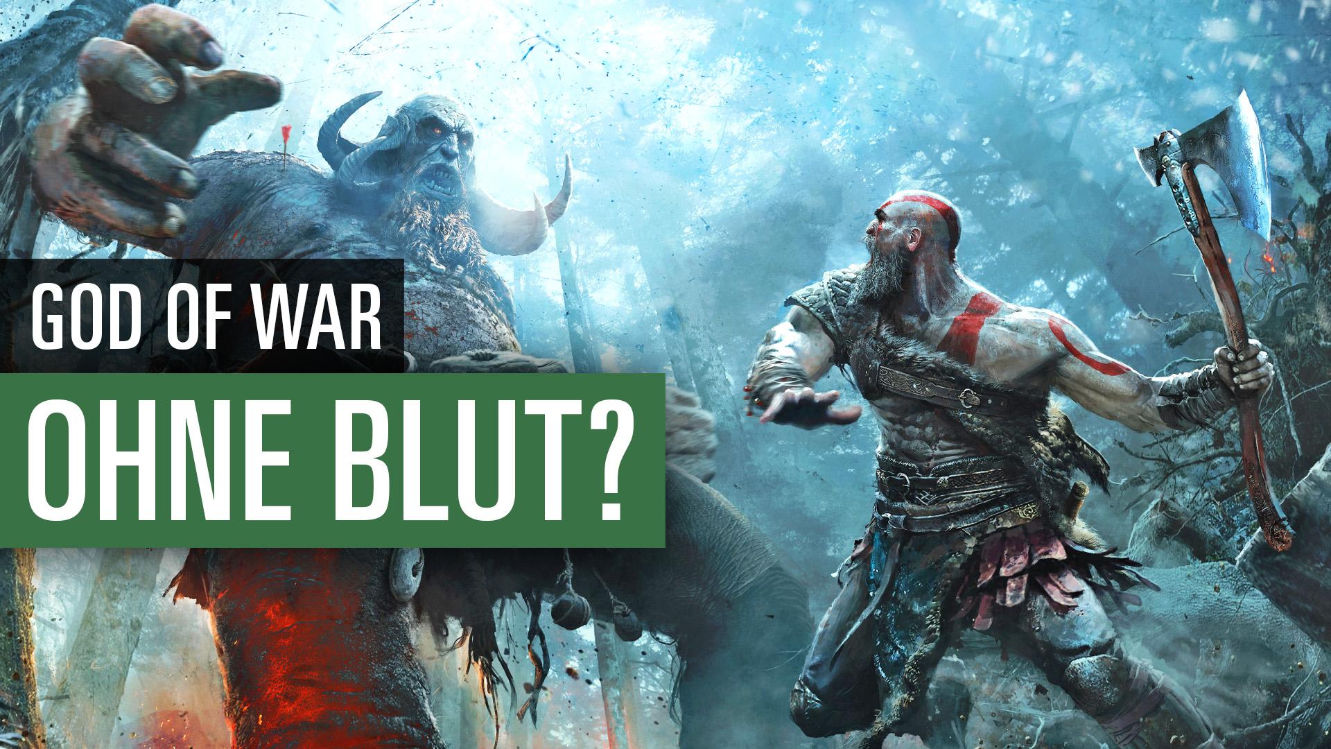 God Of War 2018 Kein Rotes Blut Aber Uncut Die Gewaltdarstellung Im Ps4 Spiel