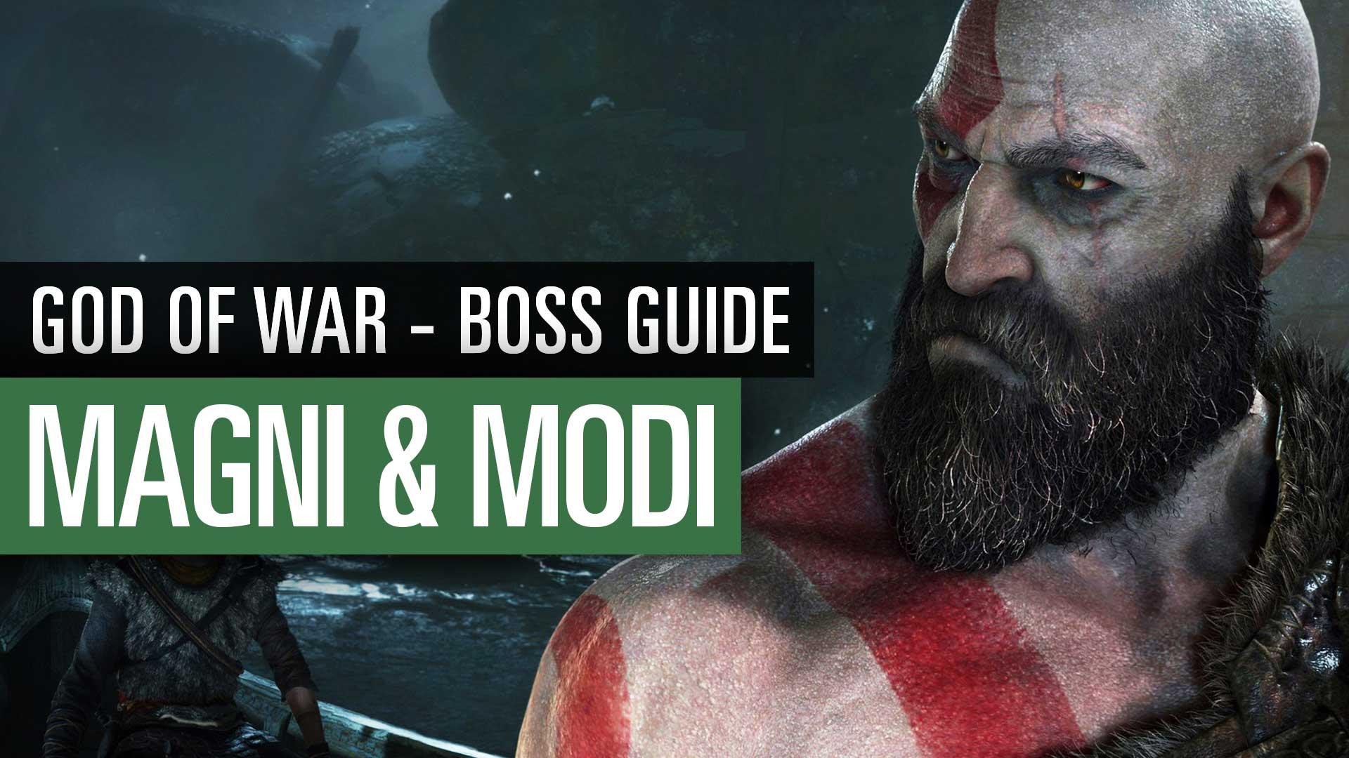 God Of War 2018 Bossguide Magni Und Modi