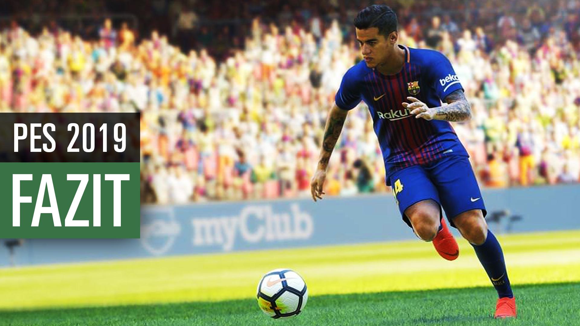 PES 2019  Auf der E3 angespielt - besser als FIFA 19  83b792445d8e4